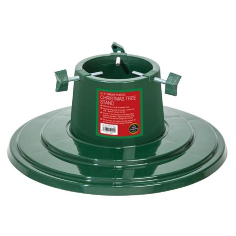 4 quot 5 quot plastic christmas tree stand green