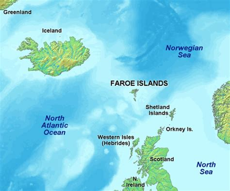 faroe islands map 500 years late vikings didn t find faroes islands rainbow adventure