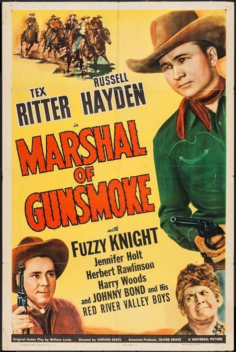 film cowboy e indiani marshal of gunsmoke universal 1943 one sheet 27 quot x