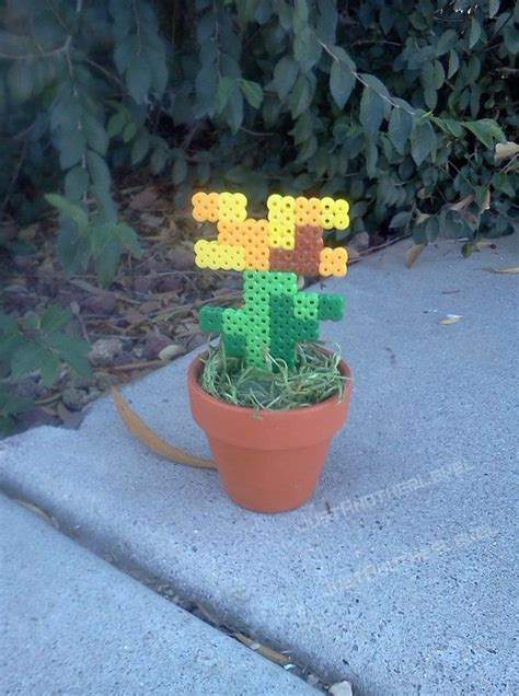 minecraft printable flowers 201 best images about perler patterns on pinterest
