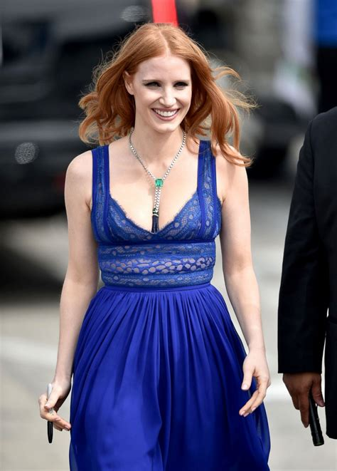 junes top celebrity pictures photos abc news jessica chastain picture february s top celebrity