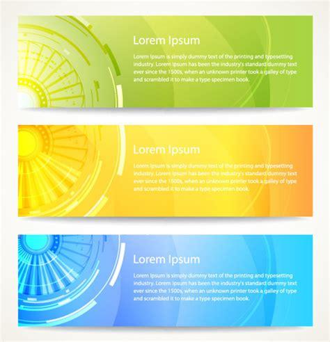 banner design free download vector modern abstract banner design free vector in adobe