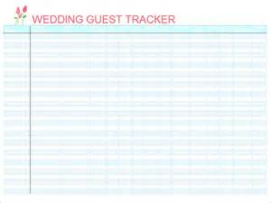 guest list excel template top 5 resources to get free wedding guest list templates