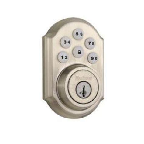 home depot locks kwikset smartcode keyless entry deadbolt lock from home