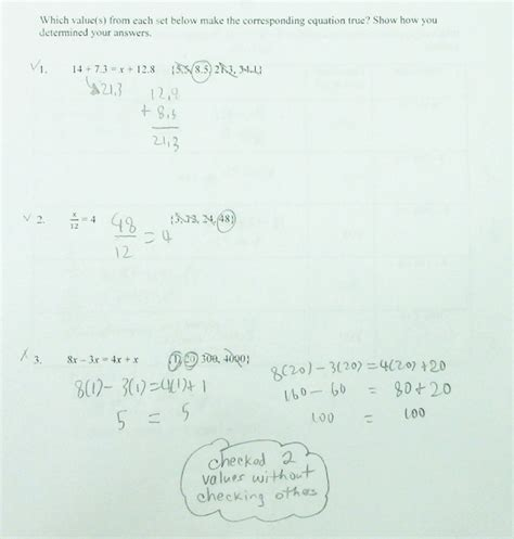 finding solutions of equations