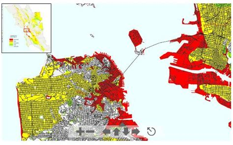san francisco landfill map does your house sit on landfill on the block