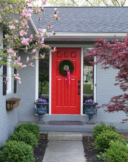choose   colour   front door red