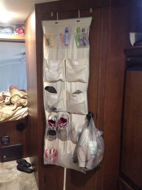 rv shoe storage rv storage this hanging shoe rack is a must in any