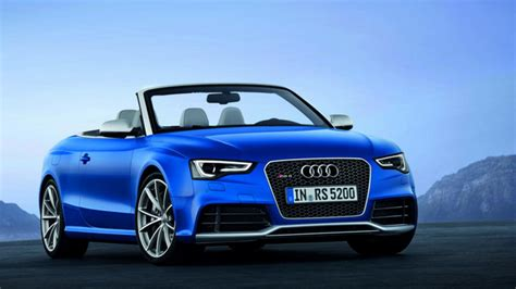 Create Your Own Audi by 2012 Audi Rs5 Cabriolet Top Gear
