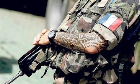 legion tattoo maori tattooed legionnaire maori