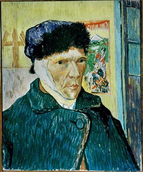 van goghs ear the vincent van gogh self portrait with bandaged ear 1889 artsy