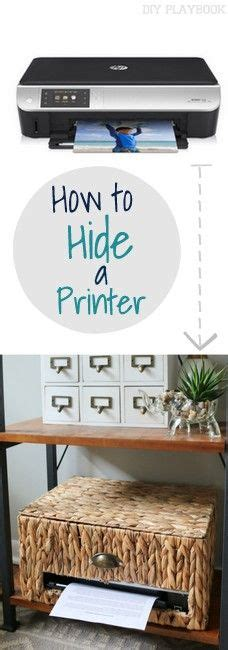 where to hide stuff in your room 25 best ideas about printer storage on small printer office storage and desktop