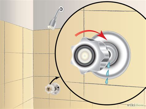 How To Repair A Leaking Shower Faucet by How To Fix A Leaky Shower Faucet 11 Steps With Pictures