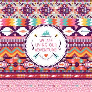 tribal pattern colorful hipster seamless colorful tribal pattern by tomuato