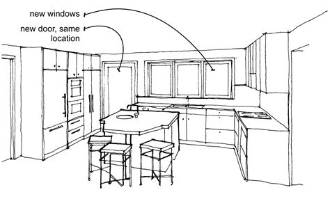 Kitchen Design Sketch 28 Kitchen Sketch Kitchen Sketch Www Imgarcade Image Arcade Modern Kitchen