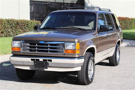 old car repair manuals 1991 ford explorer engine control 1991 ford explorer eddie bauer 4x4 in excellent condition like bronco for sale ford