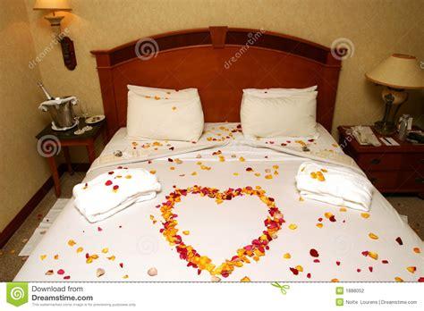 honeymoon bed honeymoon bed stock photo image of surprise heart