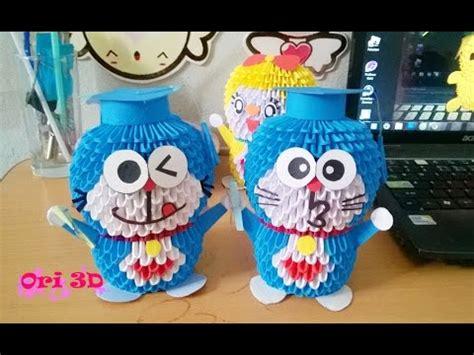 3d Origami Doraemon - 3d origami doraemon