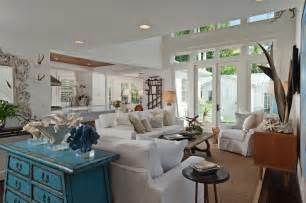 Beach Cottage Sofa Bring The Shore Into Home With Beach Style Living Room