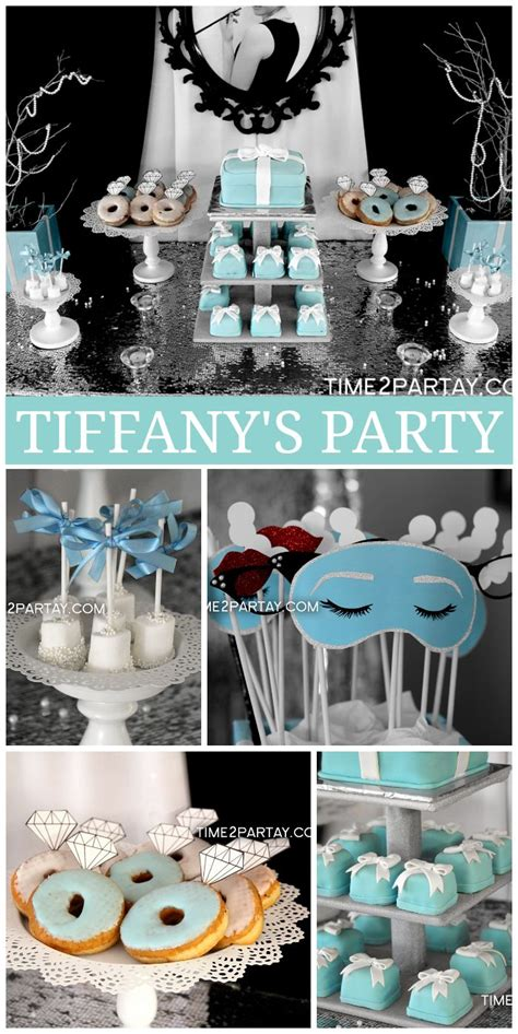 tiffany birthday party ideas birthday party ideas themes 17 images about breakfast at tiffany s party on pinterest