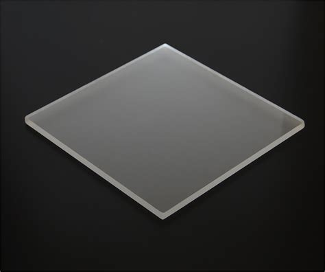 clear plastic sheet for top acrylic sheets p95 matte finish cut to size tap plastics