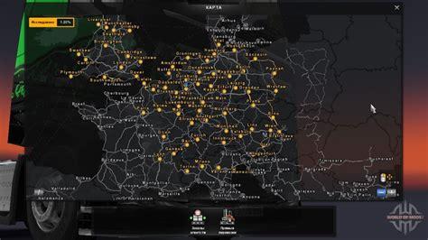 Mod Map Game Euro Truck Simulator 2 | euro truck simulator 2 maps ets 2 map mods