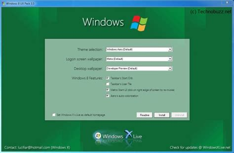 start your computer from a windows 7 installation disc or enjoy windows 8 on your windows 7 with windows 8 ux pack