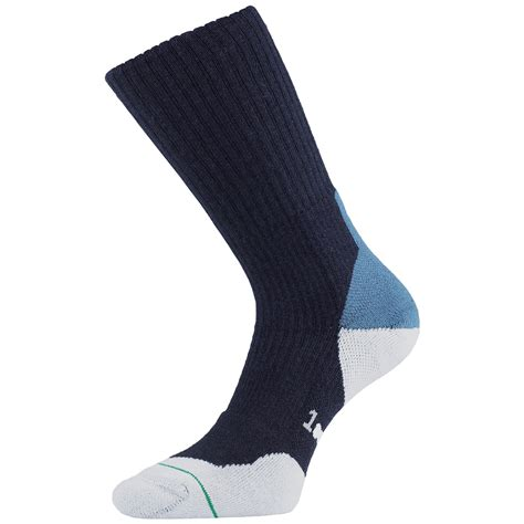 walking socks 1000 mile 3 4 season mens fusion walking socks padded layer footwear navy ebay