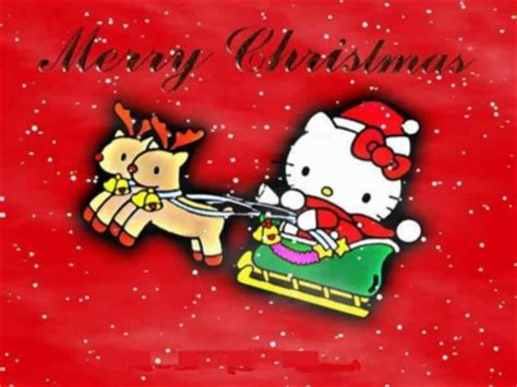 merry christmas  kitty christmas myniceprofilecom