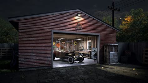 Rod Garages cgarchitect professional 3d architectural visualization