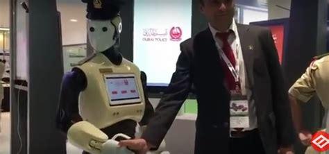 film robot polisi dubai ingin 25 persen polisi robot bekerja sama dengan