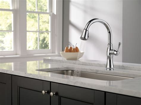 delta faucet 9197t dst cassidy single handle pull down delta cassidy kitchen faucet ppi blog