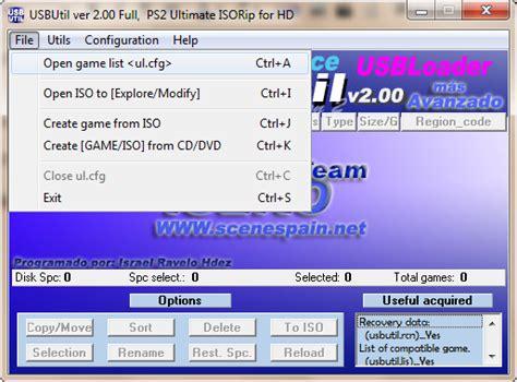 game format iso untuk ps2 panduan cara mengubah game format iso ke format ul untuk