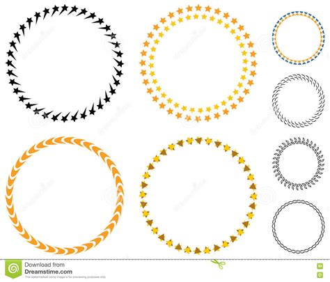 circle badge template circle template badge stock vector image of label