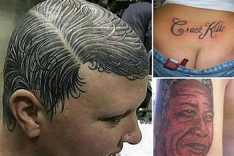 are tattoos bad for you amazing pics reveal some of the worst and funniest tattoos