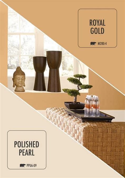 royal gold and polished pearl pair well in this zen looking personal customize your space