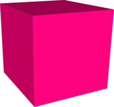 Cubes Pink pink cube clip at clker vector clip