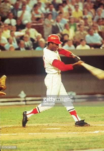Curt Flood in Baseball Batting Action Pictures | Getty Images Atletico Tucuman