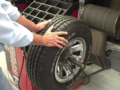 balancing for car tires want better ride quality check the tire balance and run