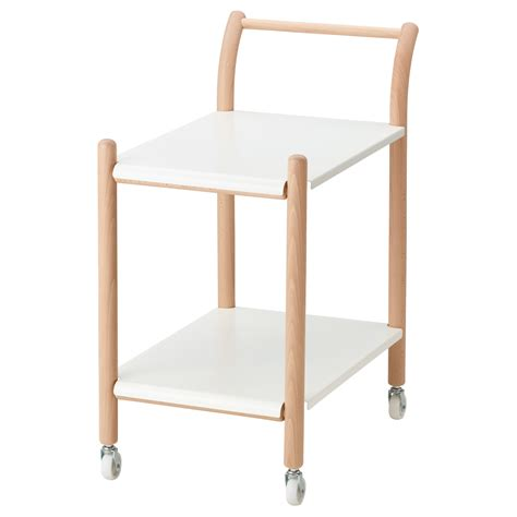 Ikea Side Table Ikea Ps 2017 Side Table On Castors Beech White 69x40 Cm Ikea