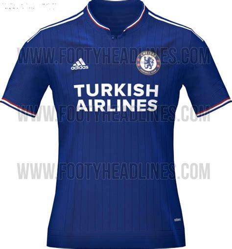 Jersey Chelsea Home 20152016 chelsea 2015 16 jerseys leaked yes we foot sports