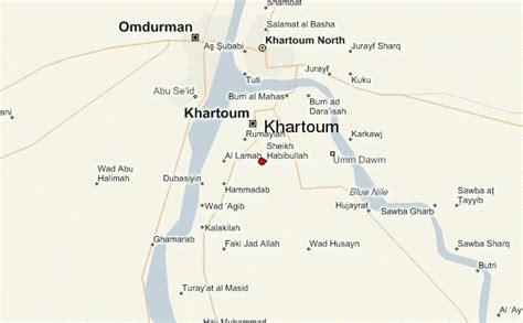 omdurman map khartoum location guide