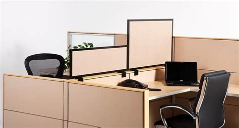 Desk Mounted Privacy Panels by Photo Gallery Obex Cubicle Extenders