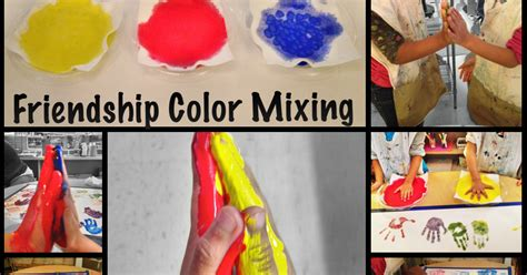 friendship color the simplicity of learning friendship color mixing