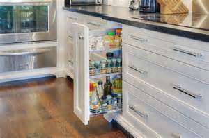Pull Out Spice Racks For Kitchen Cabinets Accented Home In Toronto 1359 Transitional Kitchen