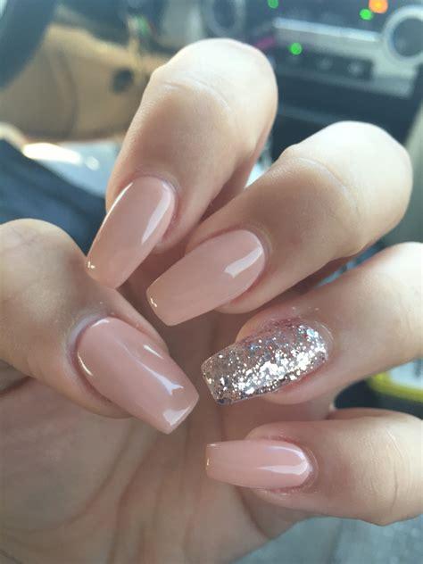 nail and acrylic and shellac coffin nails hair nails