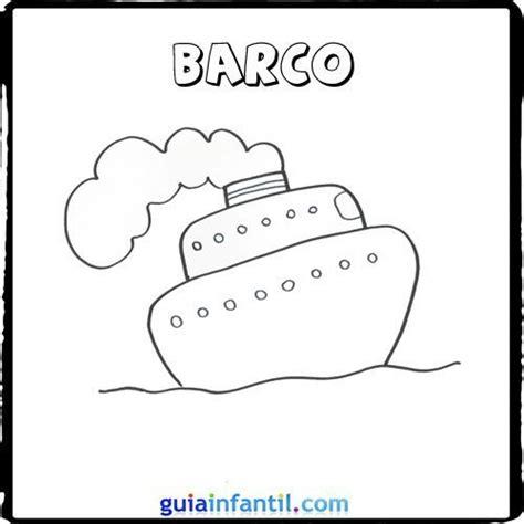 barcos sencillos para colorear dibujo de un barco para pintar con los ni 241 os dibujos de