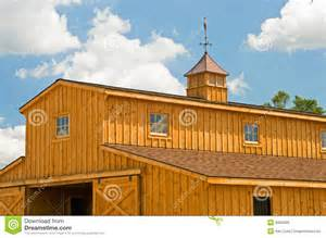 Colonial Luxury House Plans new farm barn with cupola royalty free stock photo image