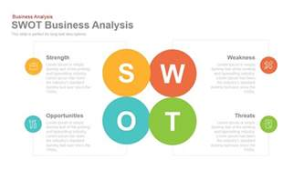 Swot Template For Powerpoint by Swot Business Analysis Powerpoint Keynote Template