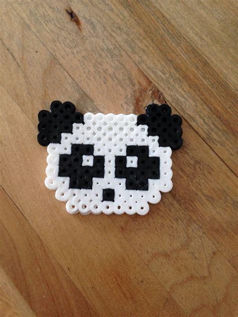 beaded panda panda perler related keywords panda perler